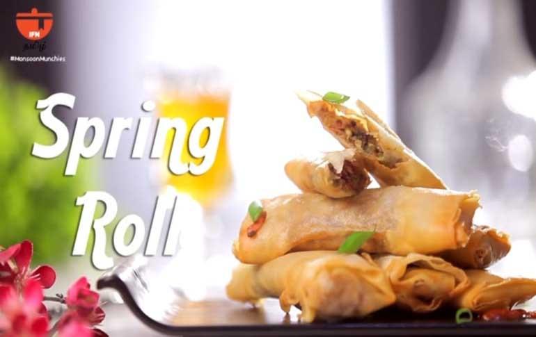 How To Make Veg Spring Rolls
