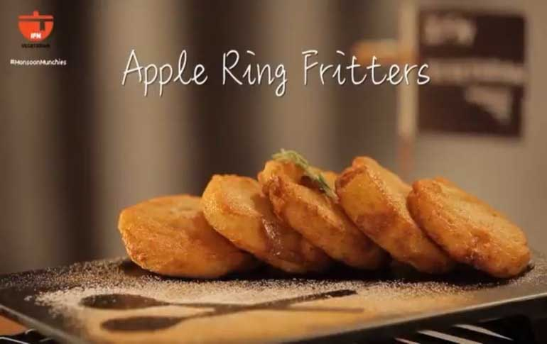 How To Make Apple Ring Fritters