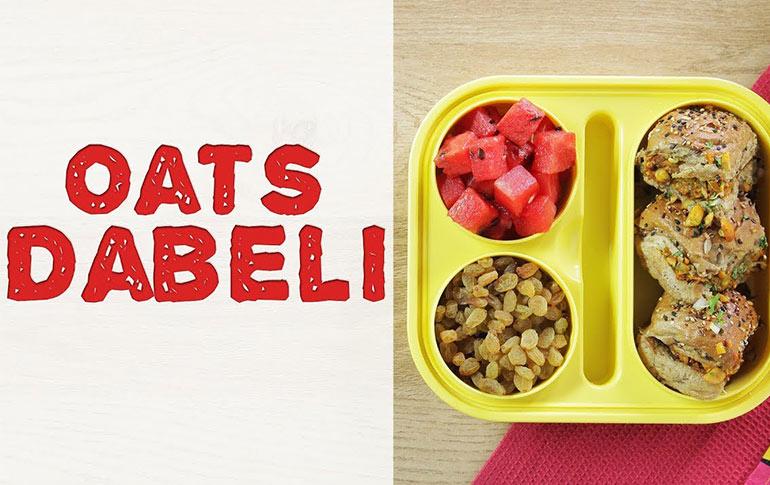 Oats Dabeli Recipe
