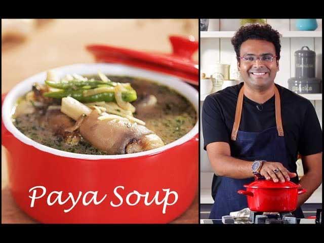How To Make Mutton Paya Soup