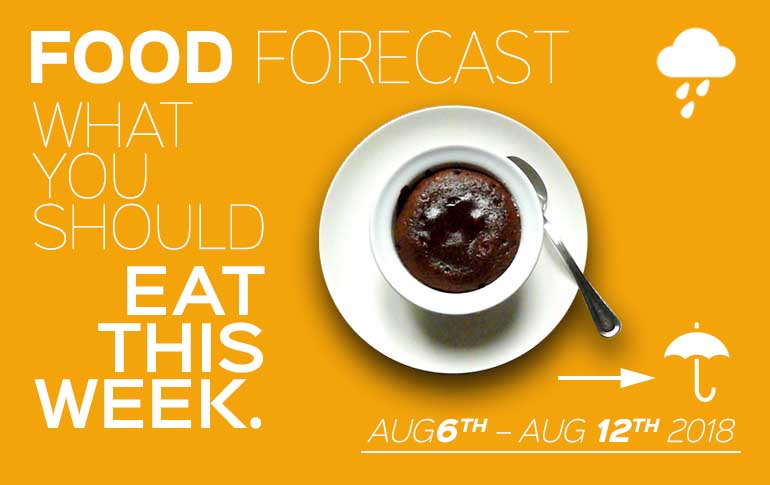 Food Forecast: August 6-12