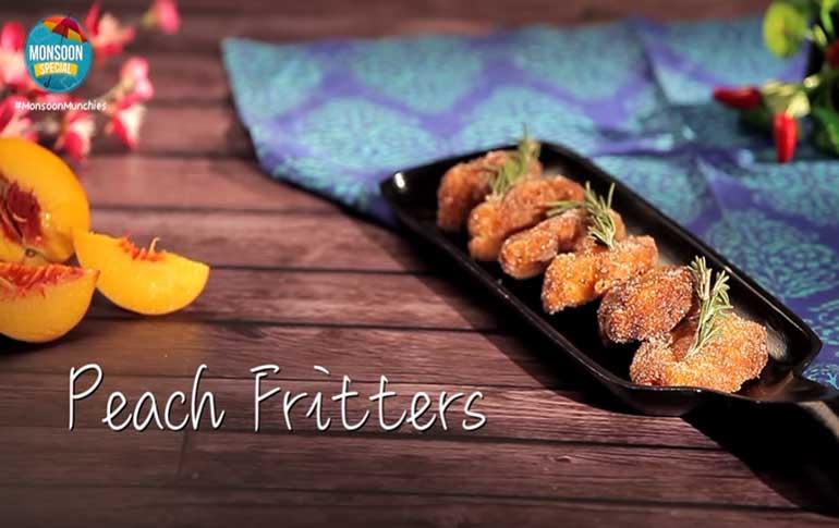 Peach Fritters Recipe