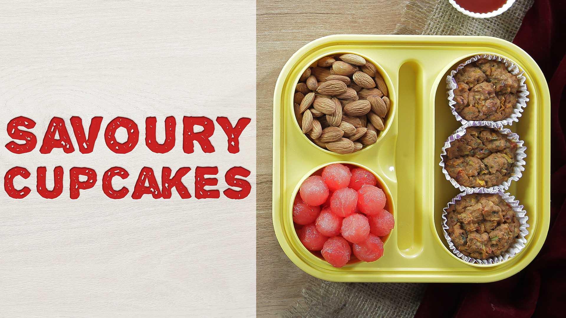 Savoury Cupcakes Recipe