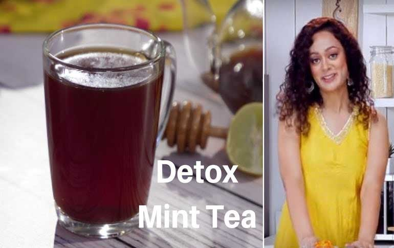 Detox Mint Tea Recipe