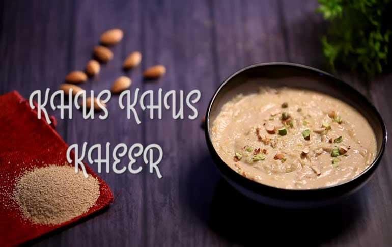 How To Make Khus Khus Kheer