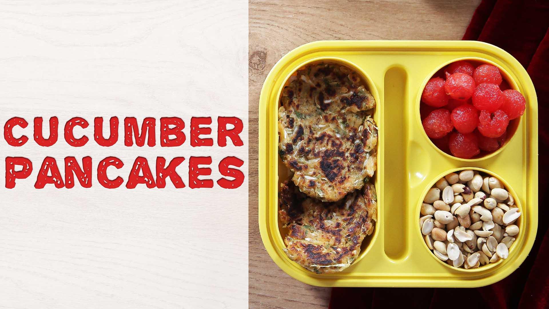 Cucumber Pancake Recipe