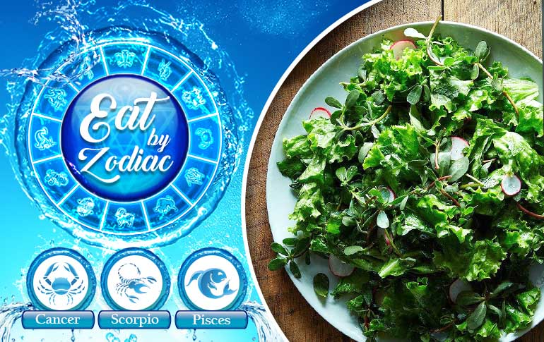 Eat by Zodiac: Water Signs – 'Ironing' Out the Emotions