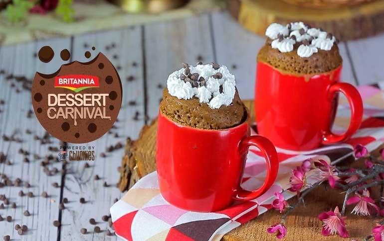 Microwave Mug Cake Recipe By Mini Mathur