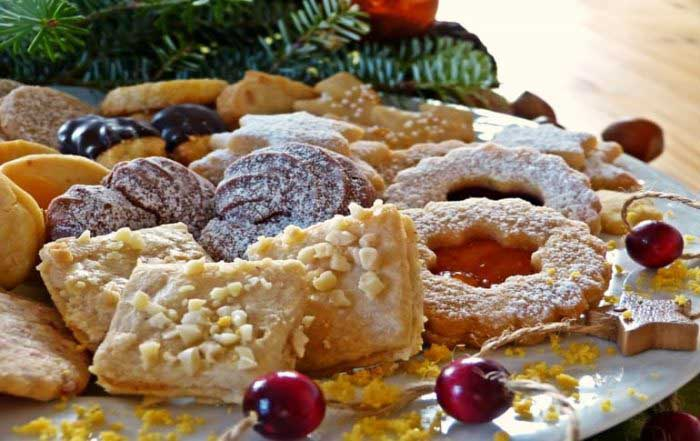 Classic Indian Style Christmas Sweets