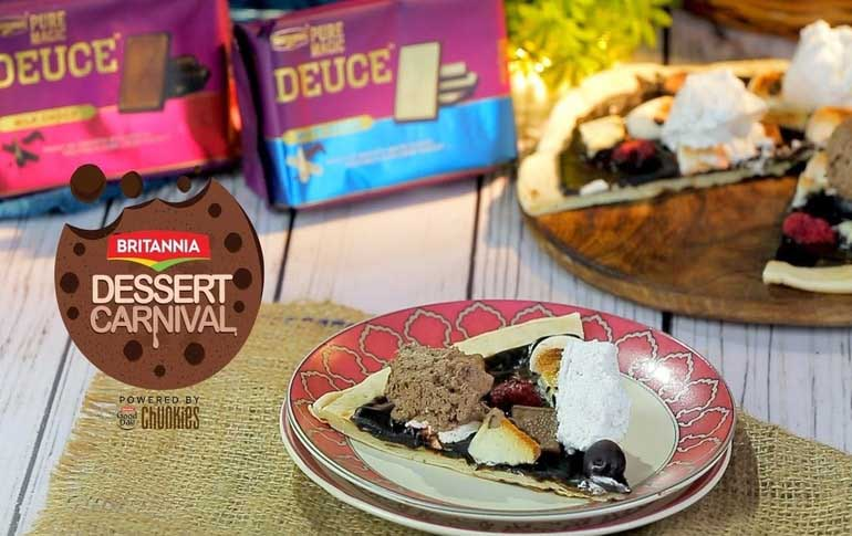 Deuce Choco Pizza By Mini Mathur