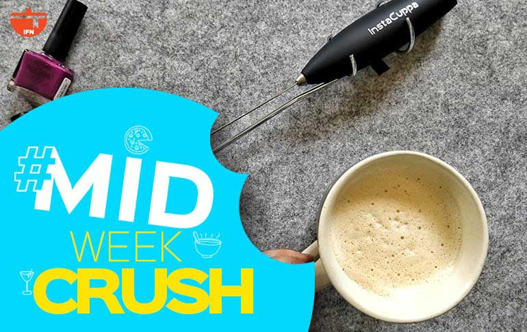 Midweek Crush: InstaCuppa Coffee Frother