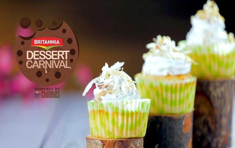 Pina Colada Cupcake Recipe By Kamini Patel