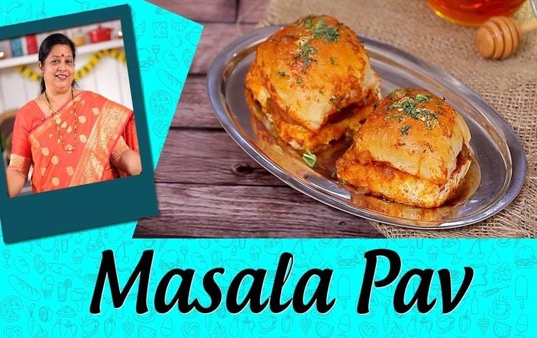 Masala Pav Recipe By Archana Arte