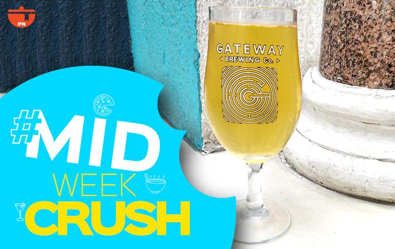 Midweek Crush: Gateway Brewing Co. Apple Cider Beer
