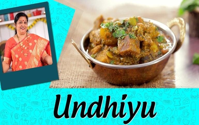 Undhiyu Recipe By Archana Arte
