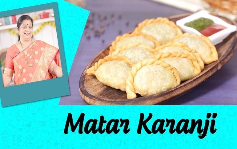 Matar Karanji Recipe By Archana Arte