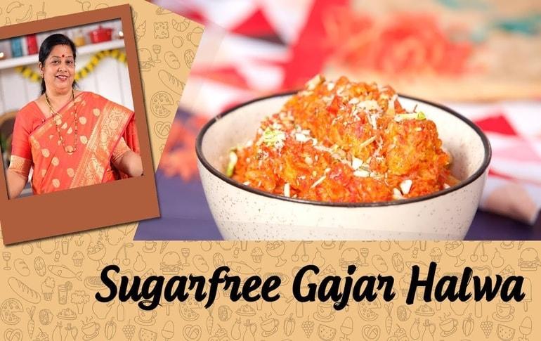 Sugar Free Gajar Ka Halwa By Archana Arte