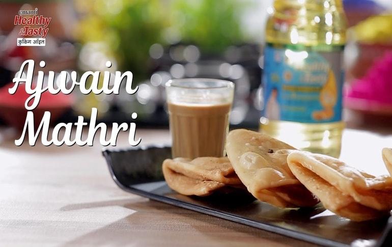 Crispy Ajwain Mathri Recipe By Harpal Singh Sokhi