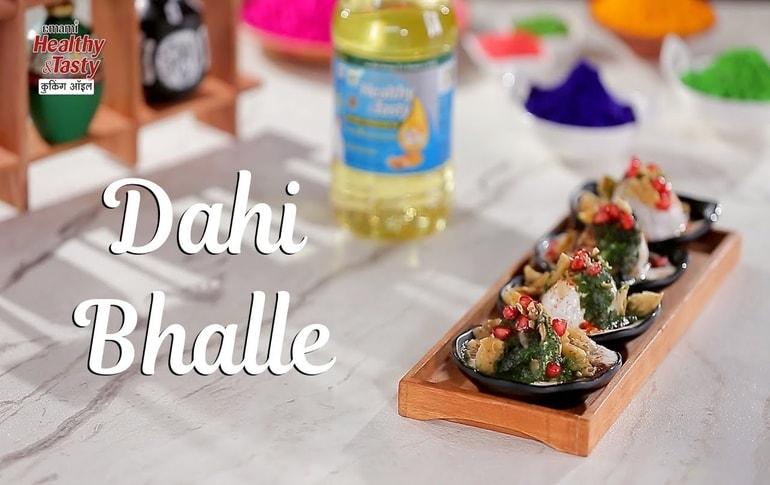 Dahi Bhalla Chaat Recipe By Harpal Singh Sokhi