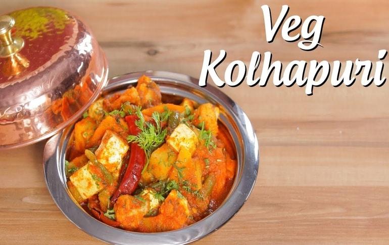 Restaurant Style Veg Kolhapuri Recipe By Archana Arte