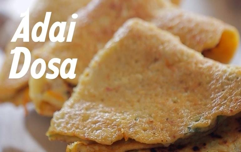 Adai Dosa Recipe In Tamil By Geetha Sridhar