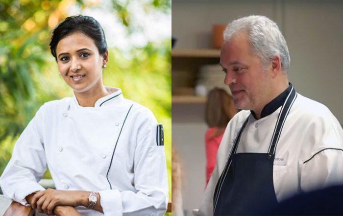 Chef Shagun Mehra_Chef Xavier Pellicer