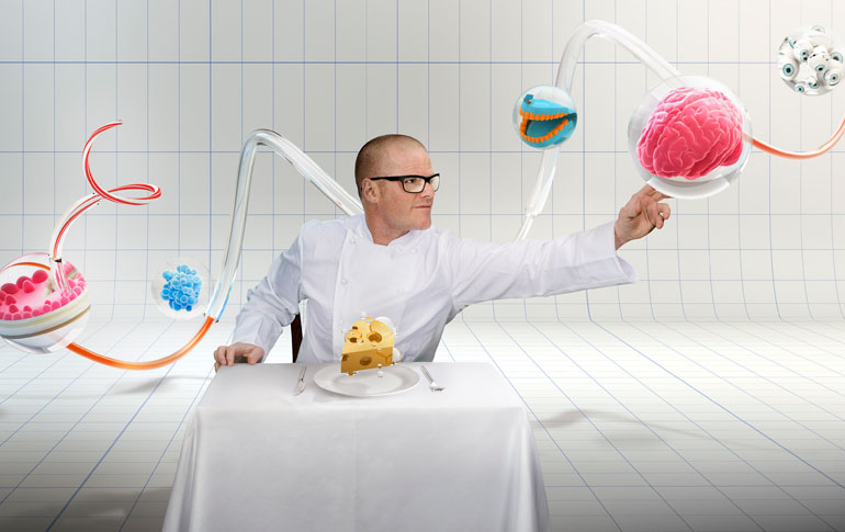 How I Made it to the Front Row of Chef Heston Blumenthals First Visit to India