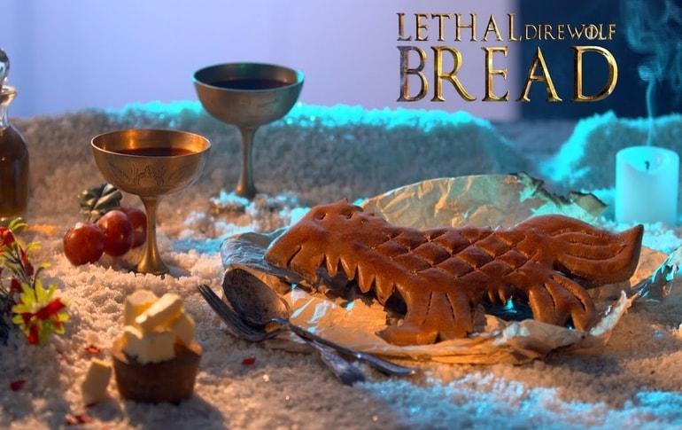 Lethal Direwolf Bread GoT Special Recipe