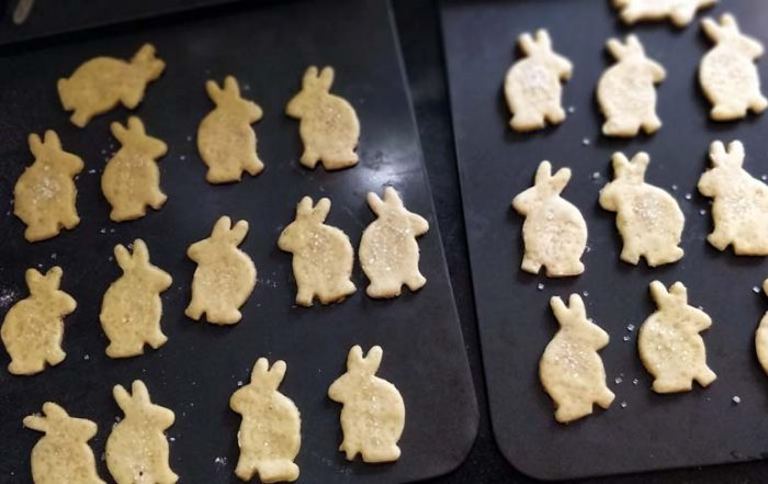 Easter Marzipan Bunnies