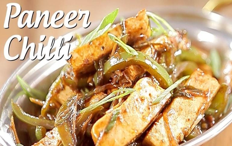 Paneer Chilli Recipe In Marathi By Archana Arte
