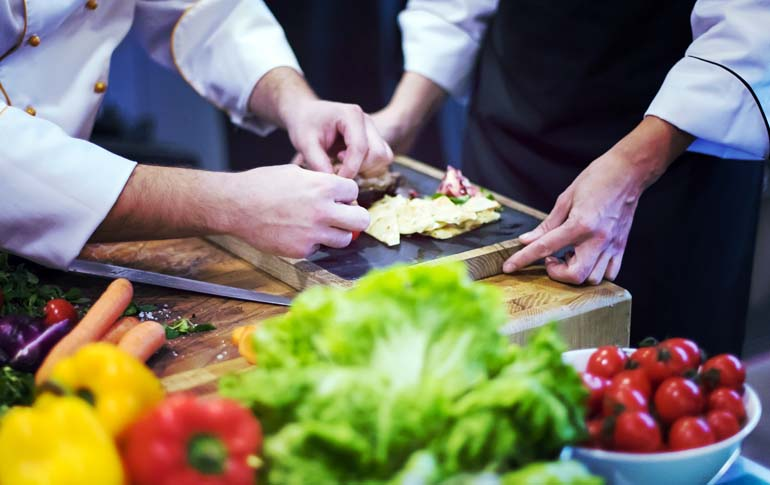 How a Papad Led to Chef Shagun Mehras Four Hands Menu With Chef Xavier Pellicer