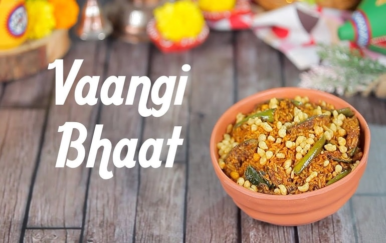 South Indian Style Vangi Bhaat Recipe By Preetha