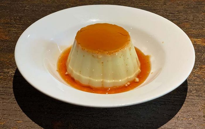 Caramel Custard at Ferry Wharf