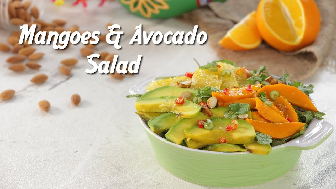 Eat Healthy With This Mango and Avocado Salad Recipe