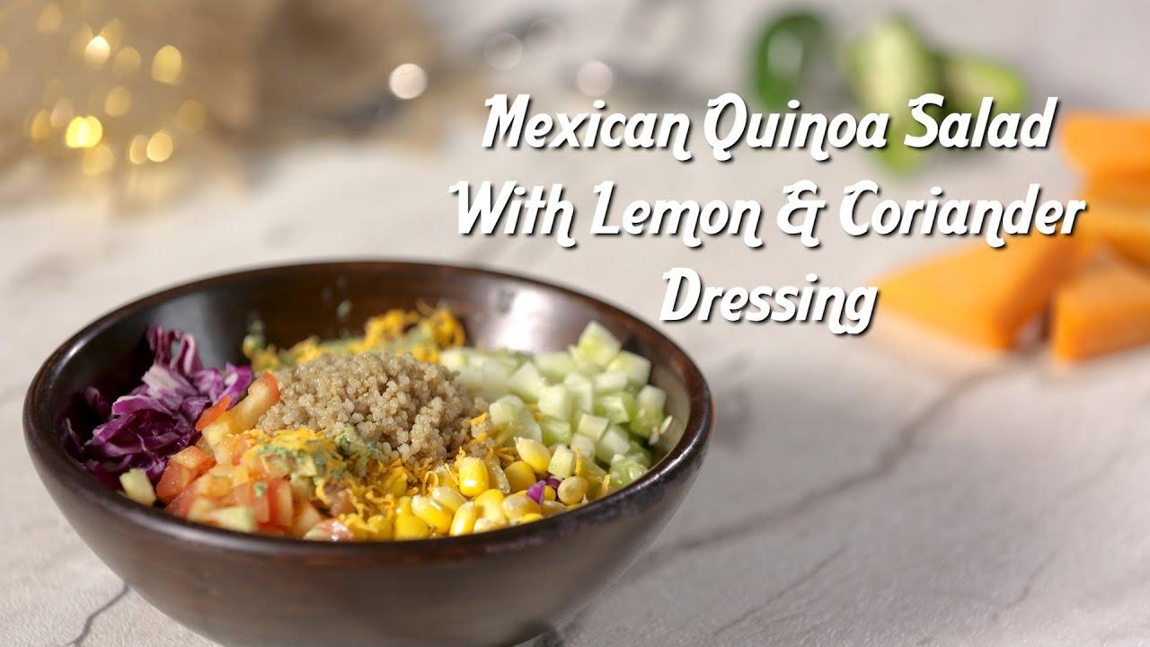 Salad Recipes   Mexican Quinoa Salad Recipe by Kamini Patel