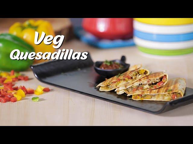 Dinner Goals: Try This Easy & Cheesy Veg Quesadilla Recipe
