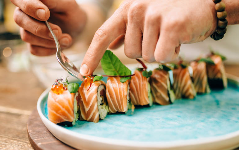 Chefs Reveal Their Experiences Serving Sushi in India