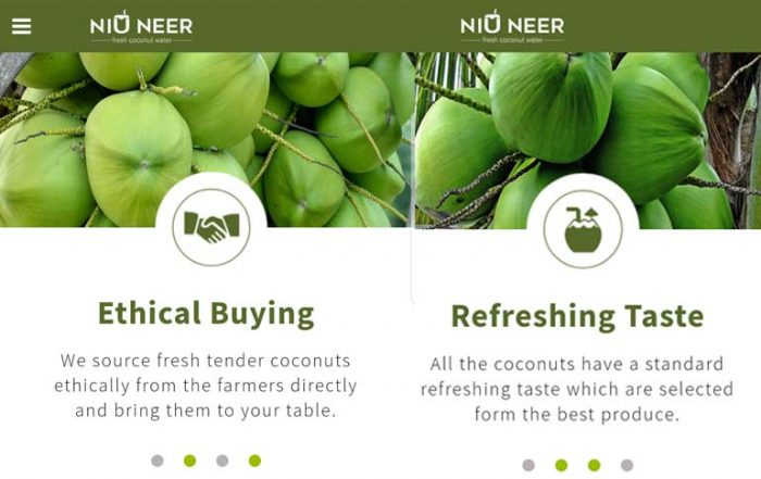 tender coconut delivery app