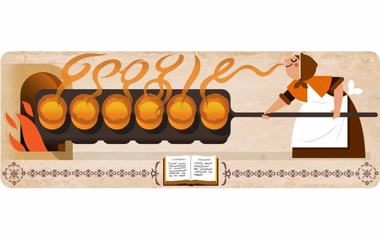 10 Times Google Doodle Celebrated Food