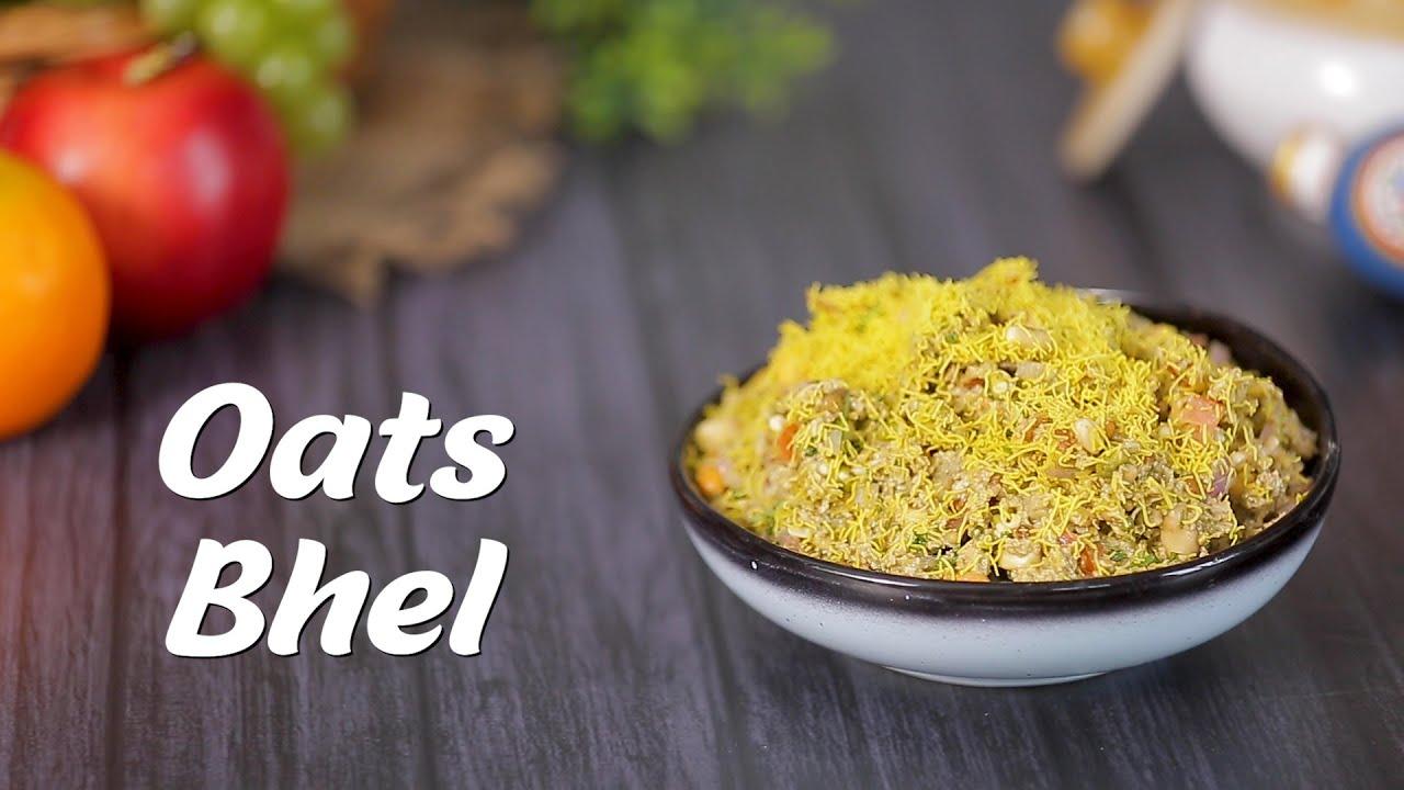 Healthy Snacks Recipes | Oats Bhel Recipe by Megha Joshi