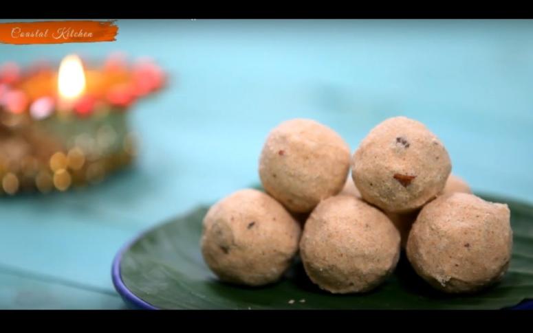Dessert Recipes | Rava & Atta Ladoo