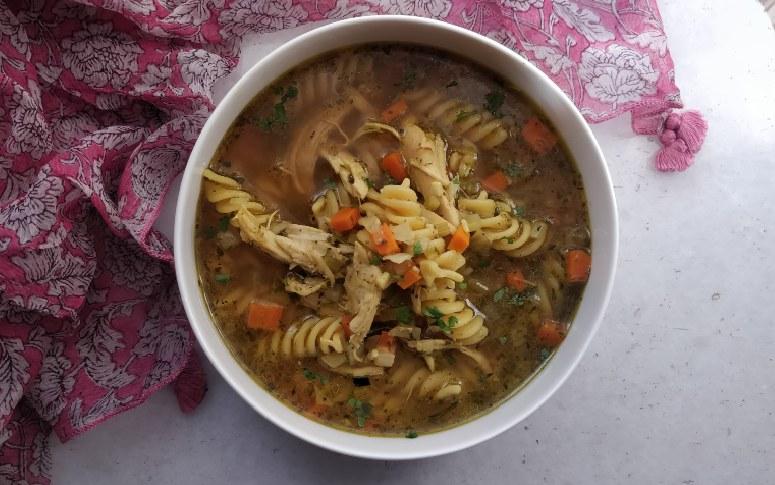 Lockdown Recipe: Chicken Noodle Soup