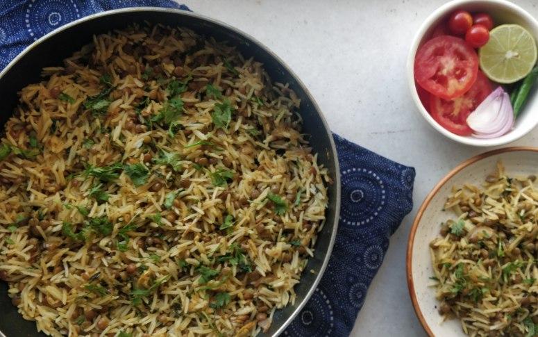 Lockdown Recipe: Zero Oil Masoor Rice
