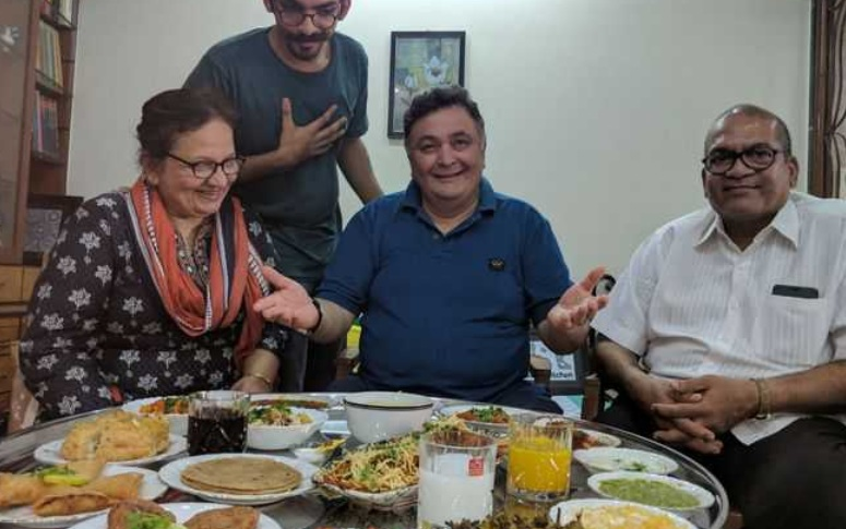 RIP Rishi Kapoor: Hope There's A Feast Waiting For You Up There