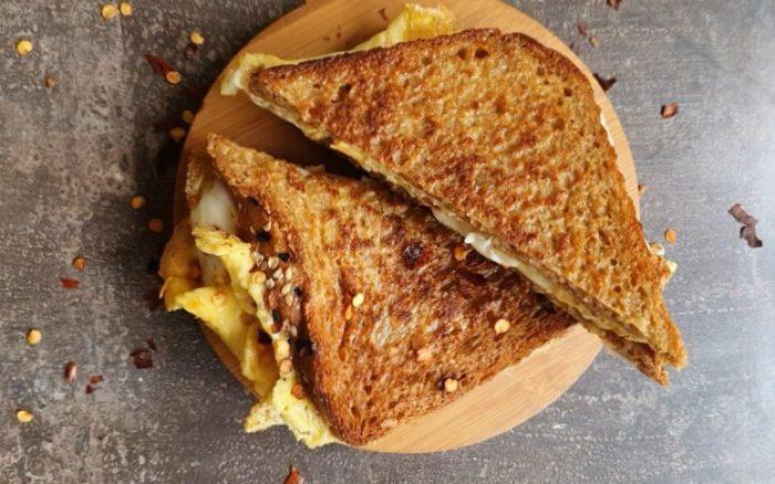 Omelette-Sandwich