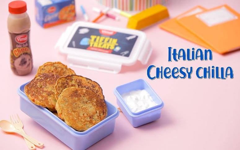 Italian Cheesy Chilla