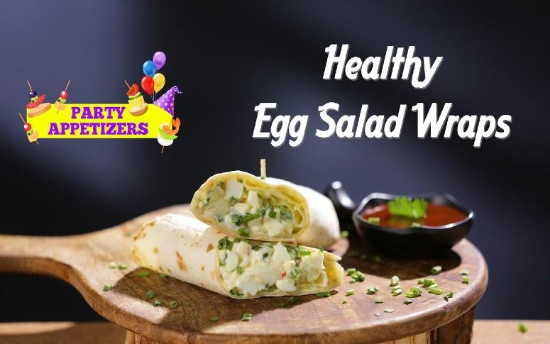 Healthy Egg Salad Wraps