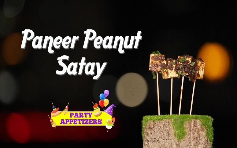 Paneer Peanut Satay