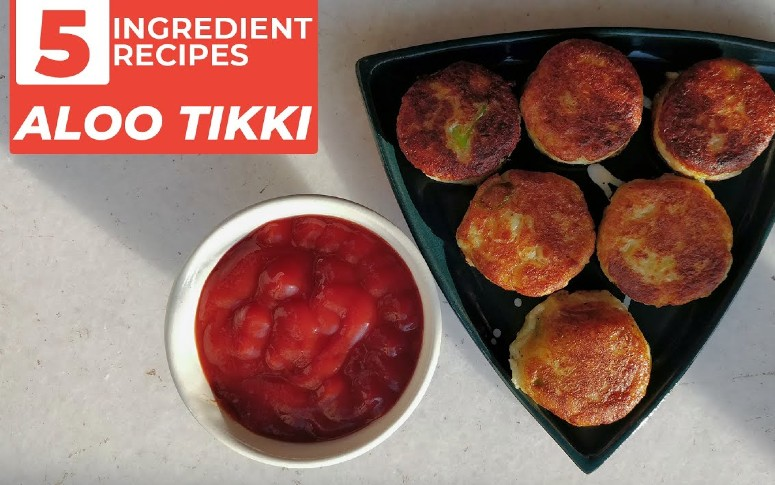 5-Ingredient Recipe: Aloo Tikki