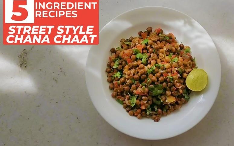 5-Ingredient Recipe: Street-Style Chana Chaat